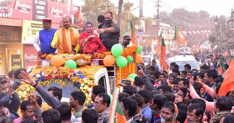 bharti ghosh rally in birbhum