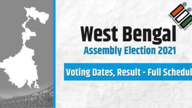 Photo of पश्चिम बंगाल चुनाव 2021: विधानसभा चुनाव की तारीखें हुई लागु