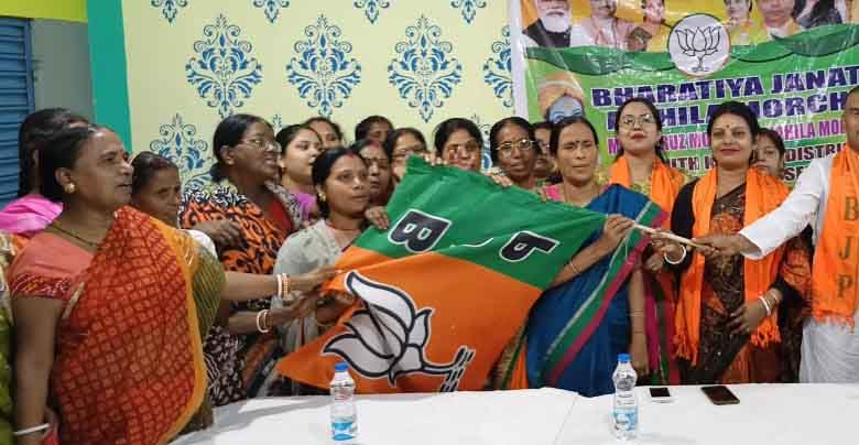 More than 100 women joined BJP