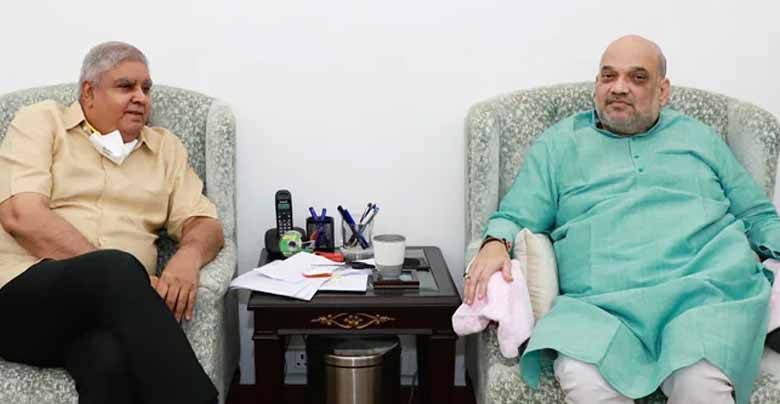 Governor came to meet Amit Shah after changing his decision to return