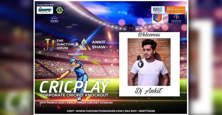 DJ Ankit Singh - The Junction House Cricplay Corporate Cricket Knockout